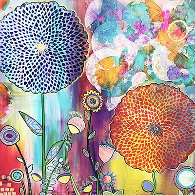 choosing joy original art meg neufeld