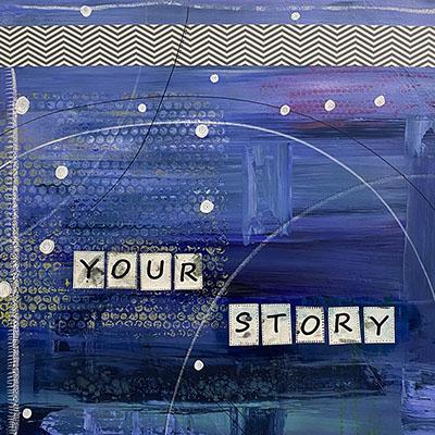 your story original art meg neufeld